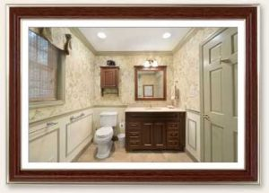 Traditional bathroom remodel by Guidarelli Building and Design
