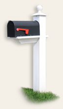 mailbox accent for capital region custom homes