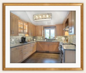 illustration of Capital Region NY kitchen remodeling