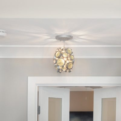 Lighting detail, custom homes by Guidarelli Building and Design, NY Capital Region