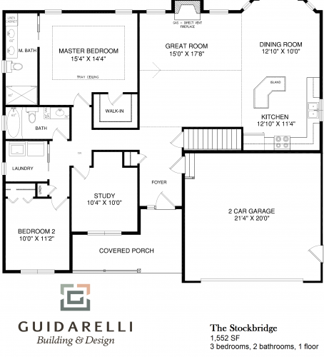 The Stockbridge Floorplan Image